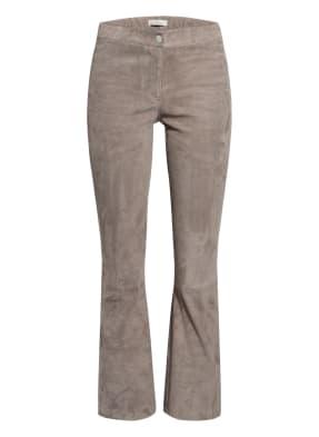 lilienfels Bootcut-Hose aus Leder