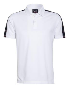 PAUL & SHARK Piqué-Poloshirt mit Galonstreifen