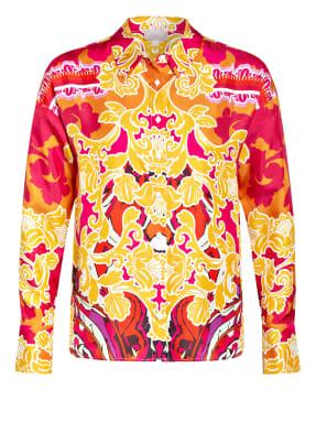 Mrs & HUGS Hemdbluse aus Seide