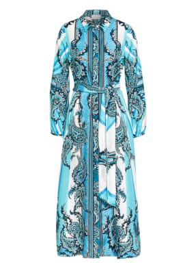 Mrs & HUGS Hemdblusenkleid aus Seide