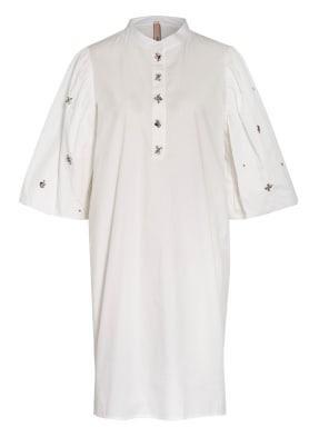 MARC CAIN Kleid mit Schmucksteinbesatz