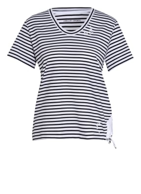 MARC CAIN T-Shirt im Materialmix