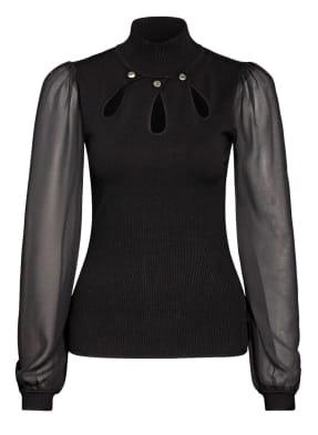 damsel in a dress Pullover SUKI im Materialmix