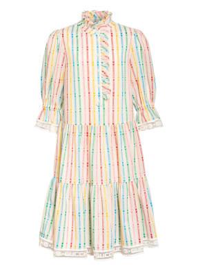 GUCCI Kleid mit Lochstickerei