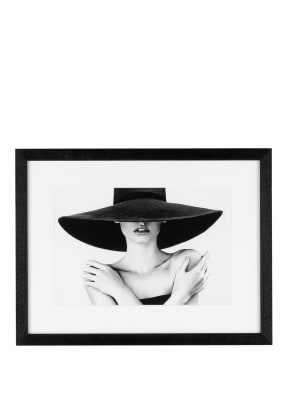 JACOB BADEN Wandbild BLACK HAT