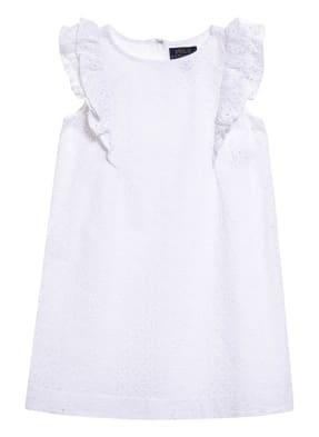 POLO RALPH LAUREN Kleid mit Lochspitze