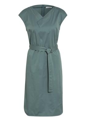 PESERICO Kleid mit Schmucksteinbesatz