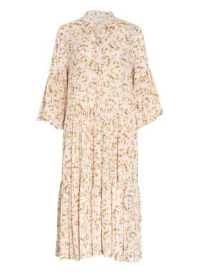 MUNTHE Hemdblusenkleid FOND mit 3/4-Arm und Glitzergarn