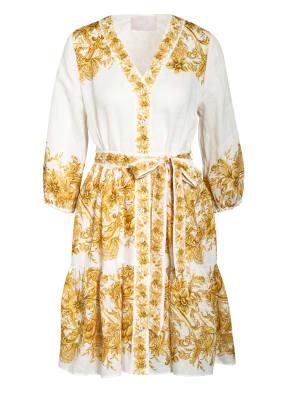 Mrs & HUGS Hemdblusenkleid mit Leinen
