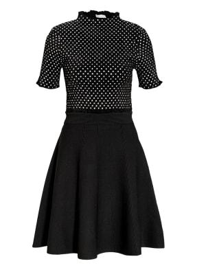 sandro Kleid mit Schmucksteinbesatz
