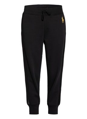 POLO RALPH LAUREN Sweatpants mit Galonstreifen
