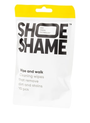 SHOE SHAME Schuh-Reinigungstücher WIPE AND WALK