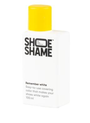 SHOE SHAME Schuhcreme REMEMBER WHITE