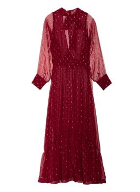 ba&sh Kleid ROMY mit Glitzergarn
