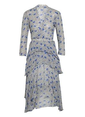 maje Kleid RENCALA mit 3/4-Arm in Wickeloptik