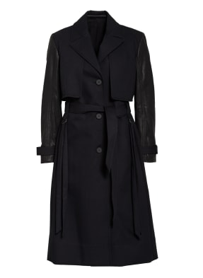 ALL SAINTS Trenchcoat CADE im Materialmix