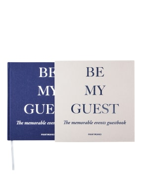 PRINTWORKS Gästebuch BE MY GUEST
