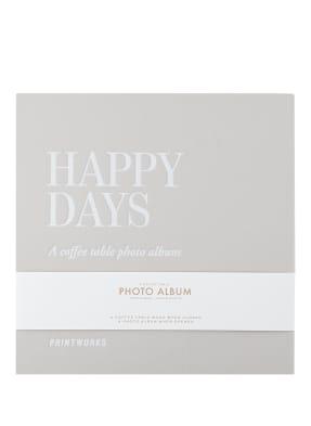PRINTWORKS Fotoalbum HAPPY DAYS