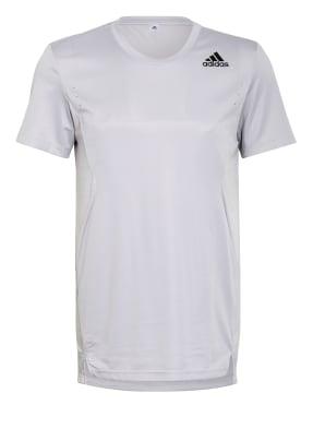 adidas T-Shirt HEAT.RDY mit Mesh-Einsätzen
