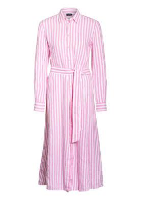 POLO RALPH LAUREN Hemdblusenkleid aus Leinen