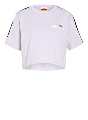 ellesse Cropped-Shirt AMARILLO