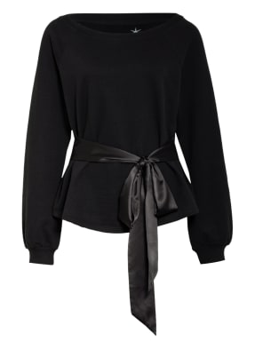 Juvia Sweatshirt mit Bindegürtel