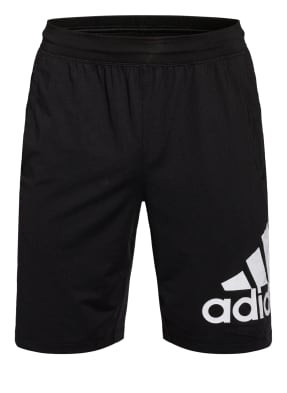 adidas Trainingsshorts 4KRFT SPORT BADGE OF SPORT mit Mesh-Einsatz
