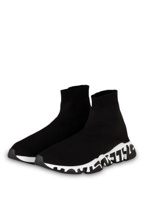 BALENCIAGA Hightop-Sneaker SPEED GRAFFITI