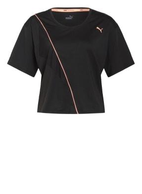 PUMA T-Shirt mit Mesh-Einsätzen