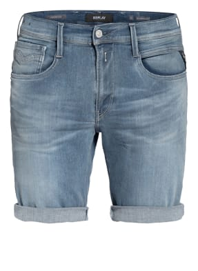 REPLAY Jeans-Shorts ANBASS HYPERFLEX BIO Slim Fit