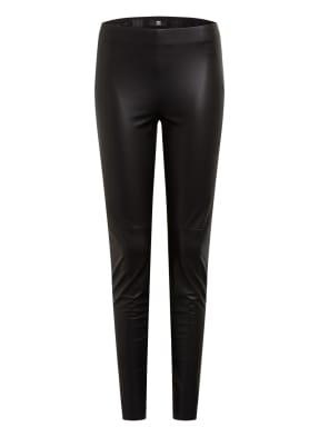 RIANI Leggings in Lederoptik