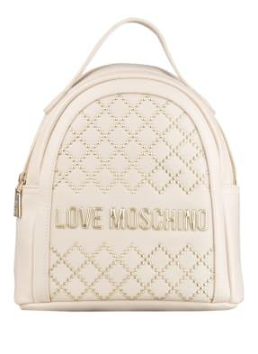 LOVE MOSCHINO Rucksack mit Nietenbesatz