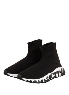 BALENCIAGA Hightop-Sneaker SPEED GRAFFITI