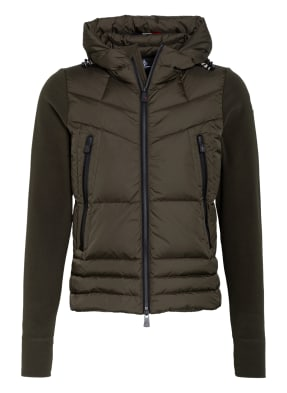 MONCLER GRENOBLE Steppjacke im Materialmix