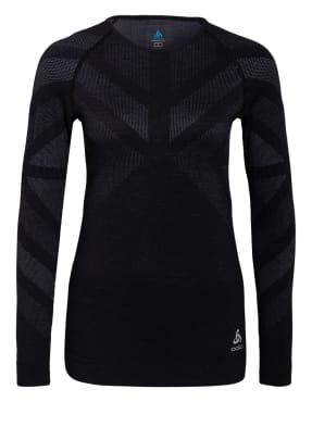 odlo Funktionswäsche-Shirt NATURAL + KINSHIP WARM