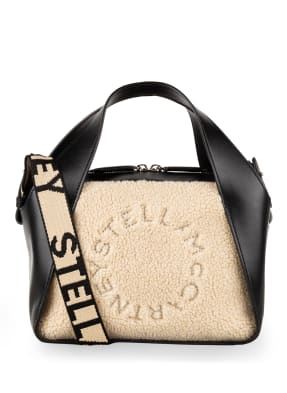 STELLA McCARTNEY Handtasche mit Kunstfellbesatz