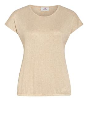 DEHA T-Shirt mit Glitzergarn