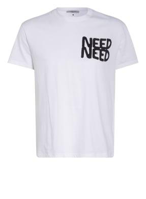 VALENTINO T-Shirt mit Nietenbesatz