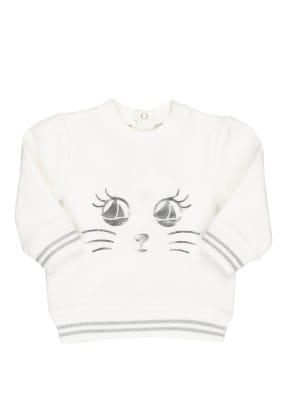 PETIT BATEAU Sweatshirt mit Glitzergarn