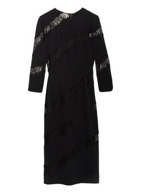 DOLCE&GABBANA Kleid mit Spitzenbesatz