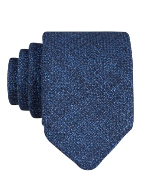 BOSS Krawatte mit Leinen