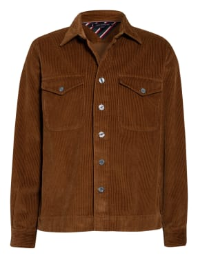 TOMMY HILFIGER Cord-Overshirt Oversize Fit