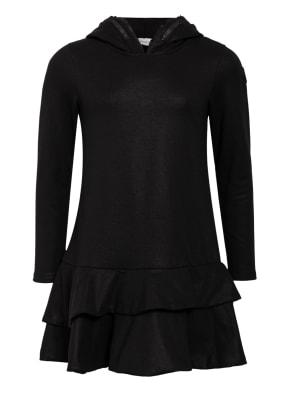 MONCLER enfant Hoodie-Kleid mit Rüschen- und Volantbesatz