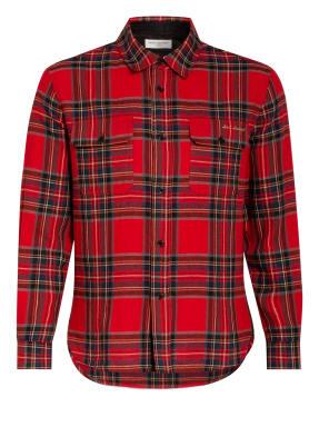SAINT LAURENT Flanell-Overshirt Regular Fit