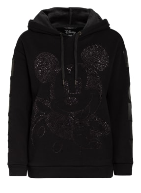Princess GOES HOLLYWOOD Hoodie mit Schmucksteinbesatz