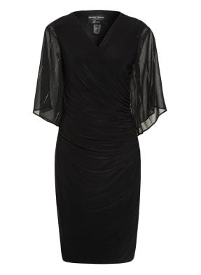FRANK LYMAN Kleid mit 3/4-Arm und Glitzersteinbesatz