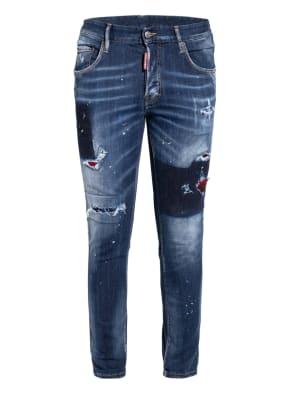 DSQUARED2 Destroyed Jeans SKATER JEAN Extra Slim Fit