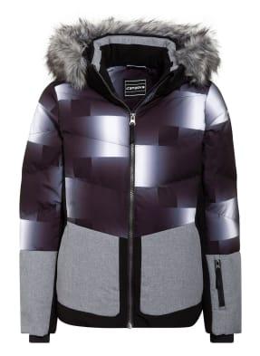 ICEPEAK Skijacke LOMITA mit abnehmbarem Kunstfellbesatz