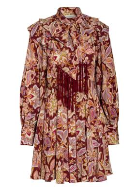 ZIMMERMANN Hemdblusenkleid CHARM aus Seide