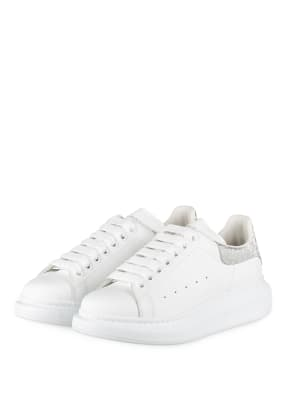 Alexander McQUEEN Plateau-Sneaker mit Glitzergarn